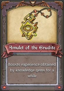 Amulet of the Erudite