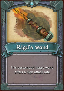 Rigel's Wand