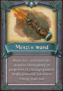 Menzi's Wand