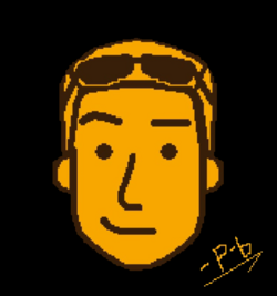 Photo-bo moderator style avatar