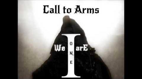 Call To Arms ~ We Are One