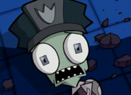 Scared Policeman Zim