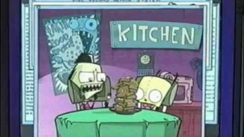 Gir Makes Waffles