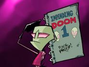 Zim serves in Impending doom one