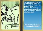 Nicktoons MLB Sizz-Lorr Card