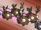 Minimoose as reindeer