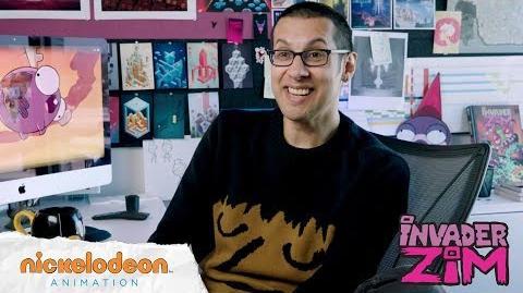 Invader Zim Meet the Creator Jhonen Vasquez Nick Animation
