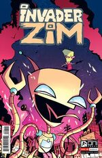 INVADER ZIM 8 WITH LOGO AND EVERYTHING WOW