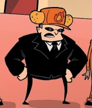 That cheezos boss guy