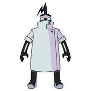 Professor Membrane front