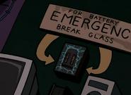 Stolen emergency batteries