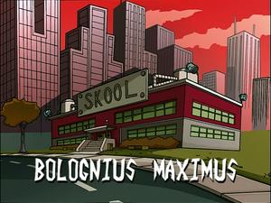 Bolognius Maximus (Title Card)