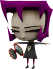 Gaz globs of doom model