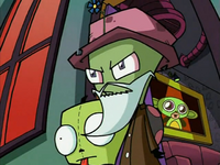 Zim's Old Man Costume