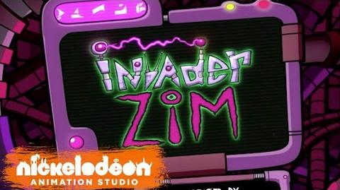 """Invader Zim"" Theme Song (HQ) Episode Opening Credits Nick Animation"