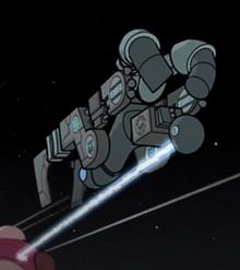 Vort ship laser