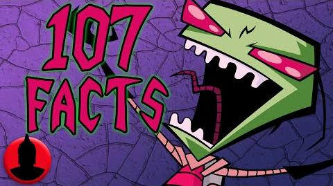 107 Invader Zim Facts Everyone Should Know- (ToonedUp 170) ChannelFrederator