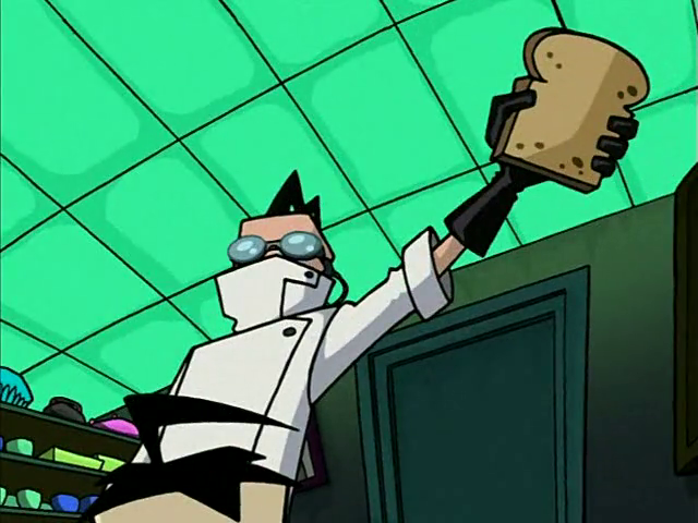 Image - I'm Making... TOAST! (Professor Membrane, The ...Invader Zim Professor Membrane