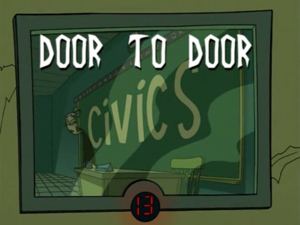 Title Card - Door to Door
