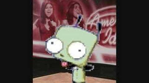 Gir on American Idol