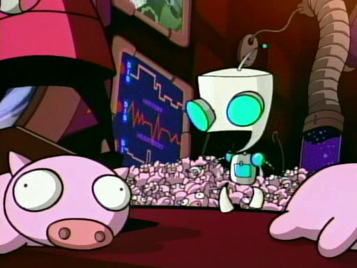GIR's Rubber Piggy Collection, Invader Zim