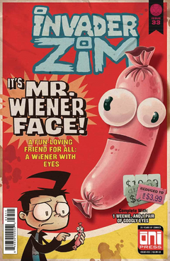 Zim cover 33 the one with a giant weenie