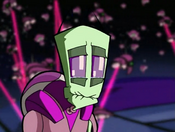 Purple holding in his laughing