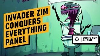 Invader Zim Conquers Everything! - Official Panel Comic Con 2020