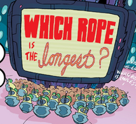 Which rope is the longest
