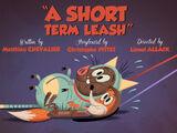 A Short Term Leash