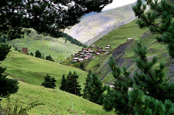 Tusheti-georgia-village-caucasus-mountains