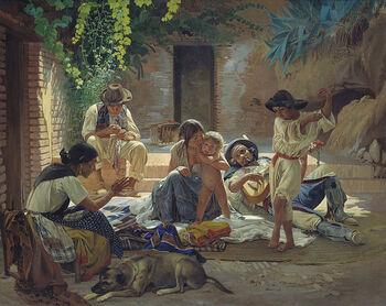 Yevgraf Sorokin - gitans en Espagne 1853