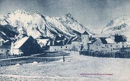 Monetier-les-Bains en hiver