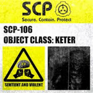 SCP106containment label