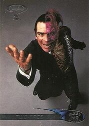 Batman Forever - Two-Face trading card