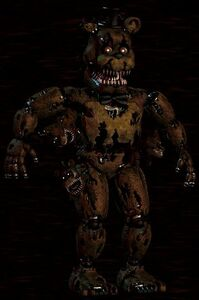 Nightmare Freddy Design