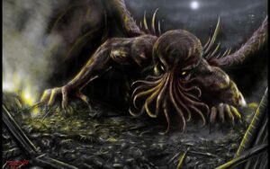 Cthulhu by blizzard67