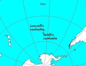 Map of R'lyeh