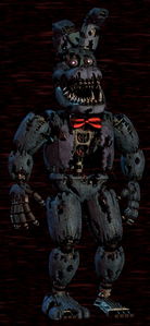 Nightmare Bonnie Design
