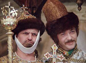 Милославский с Буншей-царём