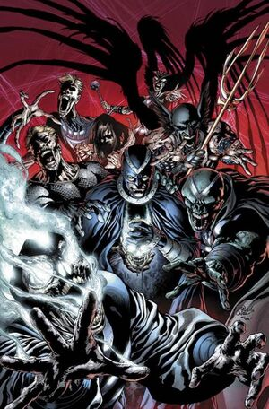 The Black Lantern Corps