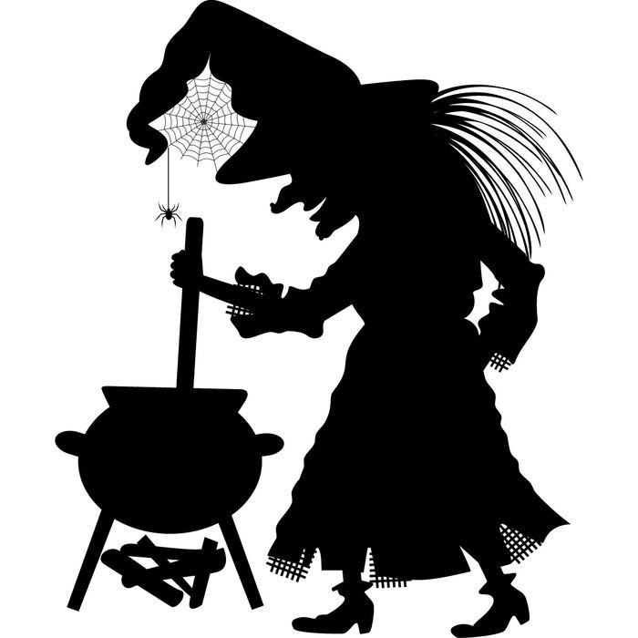 Witch-and-coldren-wall-art-sticker-44