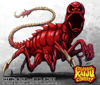 Colossal kaiju combat shadow of red by kaijusamurai-d6dw6om