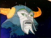 Unicron US Animated Head