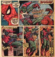 Amazing Spider-Man -122 Green Goblin's death