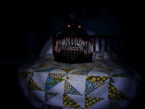 Nightmare Behind Bed