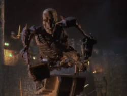 Evil Ash Holding Necronomicon