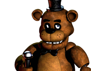 Freddy fazbear by monsuirahab-d898wex