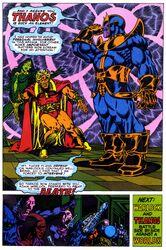 Thanos meets warlock