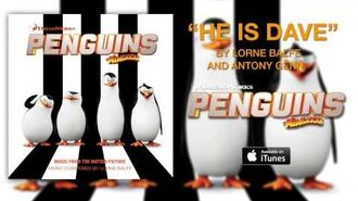 """The Penguins of Madagascar - """"He Is Dave"""" (Official Audio)"""